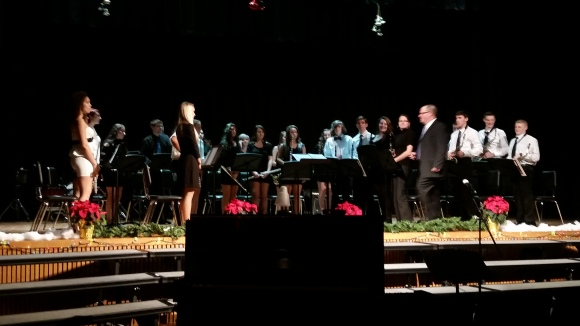 2014-2015 Senior band_winter concert (10)