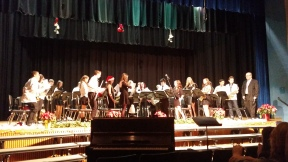 2014-2015 Senior band_winter concert (2)