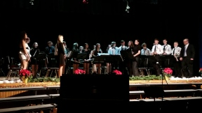 2014-2015 Senior band_winter concert (9)